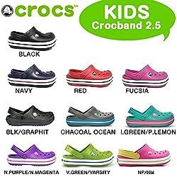 ◎CROCS(クロックス)クロッグ/サンダル クロックバンド2.5 キッズ(CROCBAND 2.5 KIDS)子供用(RO) 【キッズ】(送料無料)