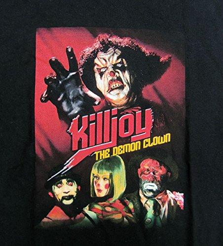 【KILLJOY THE DEMON CLOWN】 古着Tシャツ 黒 XLサイズ フルムーン・ピクチャーズ (CHARLES BAND'S FULL MOON) B級ホラー パペット・マスター