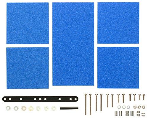タミヤ グレードアップパーツシリーズ No.512 ブレーキスポンジセット マイルド 1/2/3mm ブルー 15512