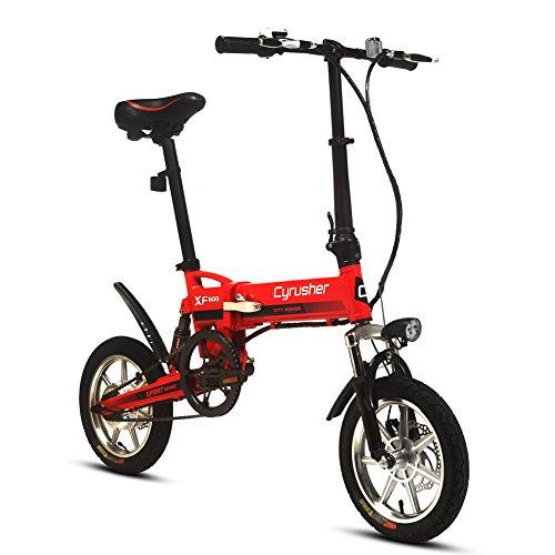 VTSP XF600 14インチ 電動アシスト自転車 ミニタイプ