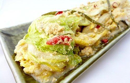 佐々木使用漬物店 白菜のぬか漬け 『乳酸発酵白菜』 約400g×3袋入り