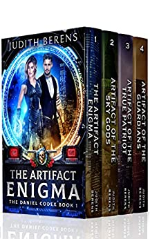 The Daniel Codex Boxed Set (Books 1-4): The Artifact Enigma, Artifact Of The Sky Gods, Artifact Of The True Patriot, Artifact Of The Guardians by [Berens, Judith, Carr, Martha, Anderle, Michael]