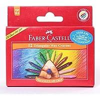 FaberCastell三角形12 75 mmグリップワックスクレヨン – styledivahub ®