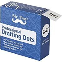 Mr。pen-製図ドット、500ピース製図テープ、アートテープテープ、ドット、画家マスキングテープ、製図装置、建築ドットテープ、Stationaryテープ、テープのアート、テープの図面用紙