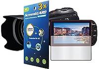 GuarmorShield 3x Canon VIXIA hf-g10hf-g20hf-g30ビデオカメラプレミアムクリアLCDスクリーンプロテクターガードキットnoカット、GUARMORブランド)