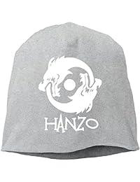 CIDY 恋人用 オーバー ゲーム ウォッチ ハンゾー ドラゴン デザイン インナーキャップ 個性的な オールシーズン 旅行 グレー