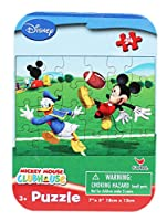 Mickey Mouse Clubhouse Donald and Mickey Football Small Kids Puzzle (50pc)