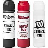 選べるカラー Wilson (ウィルソン)ステンシルインク (白、黒、赤)