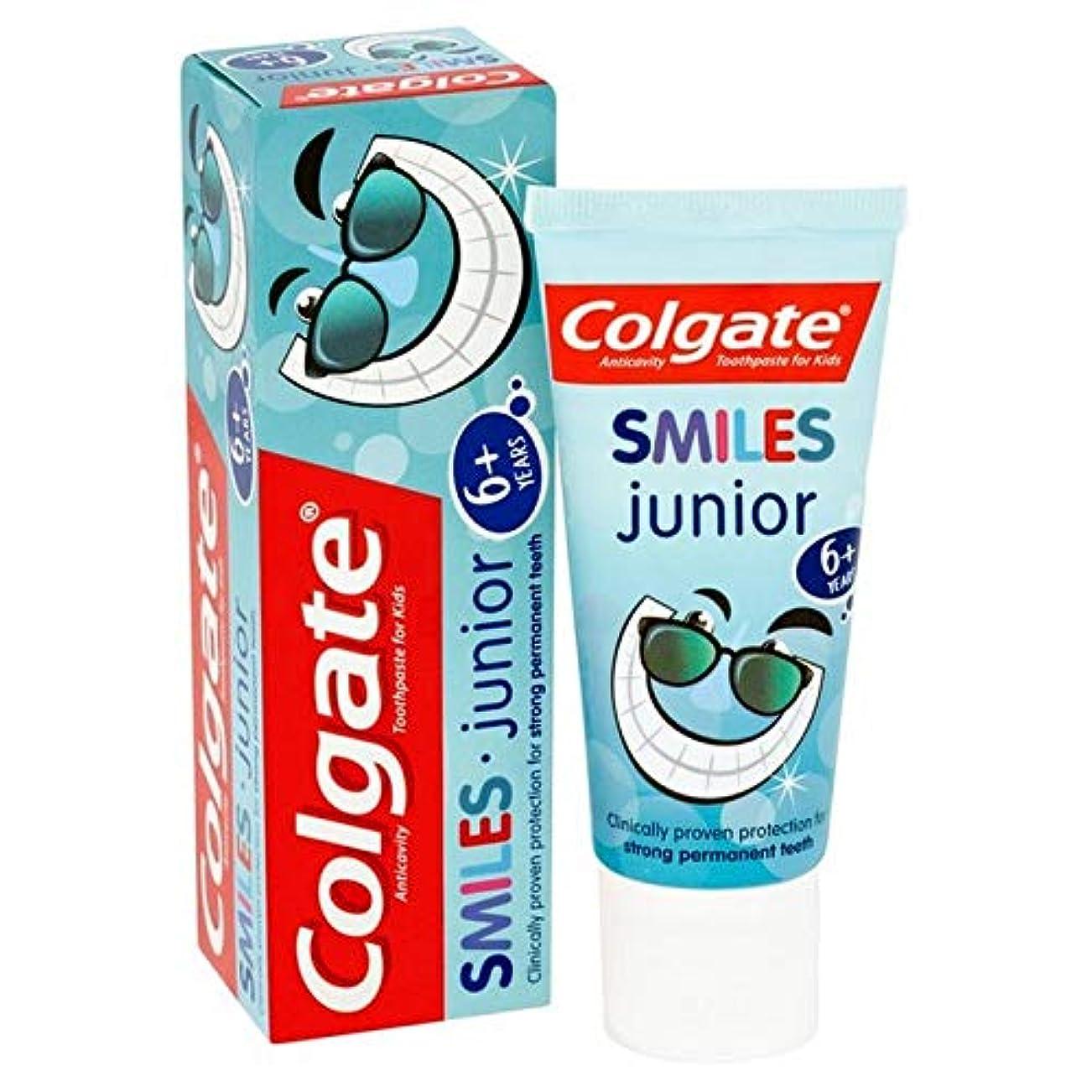 最愛の改修目に見える[Colgate ] コルゲートは、ジュニア6+年の歯磨き粉50ミリリットルを笑顔 - Colgate Smiles Junior 6+ years Toothpaste 50ml [並行輸入品]