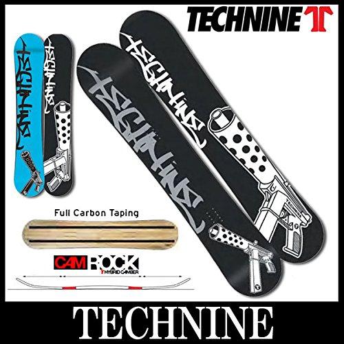 14-15 TECHNINE/テックナイン CAMROCK GUN グラトリ ジブ メンズ スノーボード 153 BLUE