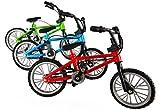 マウンテンバイク キッズ用 ダイキャストフレーム 赤青緑3台セット 1/10 クローラー ボディアクセサリー