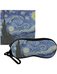 The Starry Nightゴッホ1889 ) Eyeglass Case & Cloth
