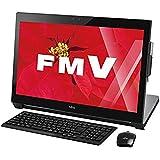 富士通 一体型デスクトップパソコン ESPRIMO シャイニーブラック FMVW77WB