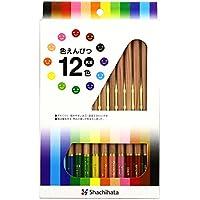 シャチハタ 色鉛筆 太芯 ZCP-12C 12色