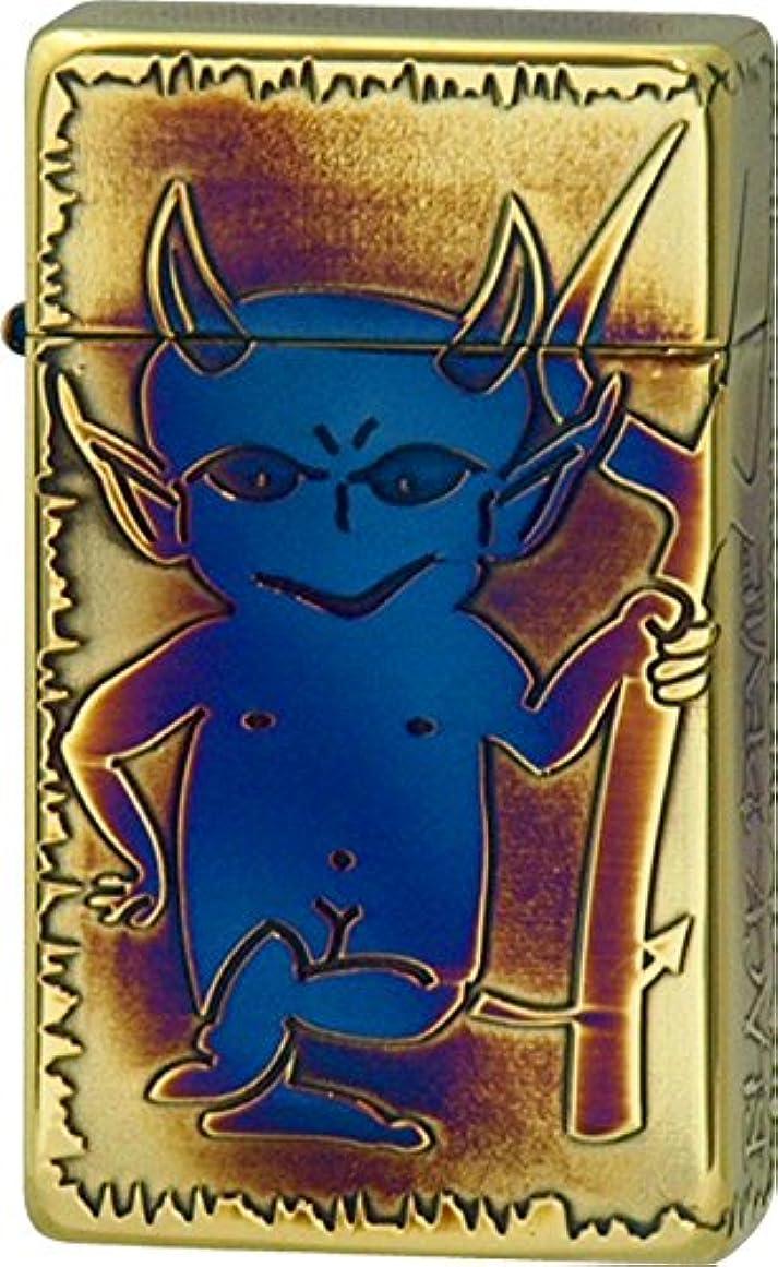 粘土医薬ネーピアSAROME(サロメ) ターボライター SRM BLACK DEVIL 【B】 ゴールド 700339