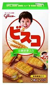 江崎グリコ ビスコ 小麦胚芽入り  24枚×5箱