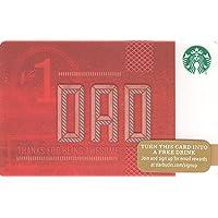 スターバックス スタバ カード 2015 ホリデー48 ①『お父さん』北米版