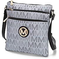 MKF Crossbody bag for women - Removable Adjustable Strap - Vegan leather Crossover Designer messenger Purse