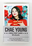CHAEYOUNG トワイス TWICE - ミニポストカード56枚セット MINI POSTCARD PHOTOCARD SET 56pcs [韓国製]