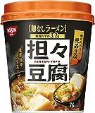 日清食品 日清 麺なしラーメン 担々豆腐スープ 22g×6個