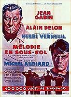 アラン・ドロン「地下室のメロディ」オリジナルポスター
