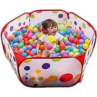 YiyiLai 屋内遊具 ボールプール 折りたたみ プレイハウス 幼児 ベビー 室内遊具 知育玩具 普通タイプ 1.5m