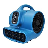 XPOWER P-450AT 1/3 HP Freshen Aire Scented Air Mover with Timer & Daisy Chain 【Creative Arts】 [並行輸入品]
