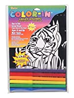 ベルベットcolor-inポスター–Tiger Cub–6x 9インチ
