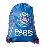 パリ・サンジェルマン フットボールクラブ Paris Saint-Germain FC オフィシャル商品 ナップサック ジムバッグ (ワンサイズ) (ブルー/ホワイト)