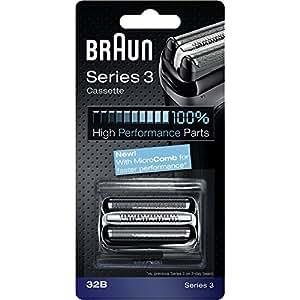 ブラウン シェーバー シリーズ3 網刃・内刃一体型カセット32B (F/C32B と互換品) 並行輸入品