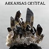 極上品アーカンソー産 Extra スモーキークォーツ(黒水晶)クラスター原石〔 天然石 パワーストーン アクセサリー 〕