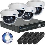 200万画素 屋内 防犯カメラ 4台 セット SET-A117U ( 暗視 録画 監視 ) HDDレコーダー2TB付き [3年保証]