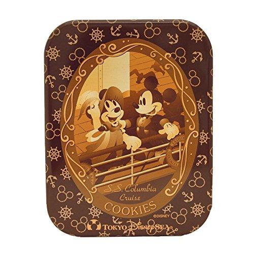 ディズニー お菓子 ミッキーマウス&ミニーマウス缶入りクッキー
