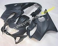ホットセールス、カスタマイズフェアリング ために ホンダ CBR600 F4 1999 2000 CBR600F4 99 00 CBR 600 哑光黑 ABS プラスチック ボディワーク パーツ オートバイ セット (射出成形)