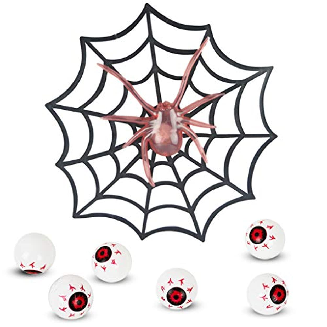 部門エゴイズムバラエティJiaxingo ハロウィン くも キャンディーボックス おもちゃ 光る 7個セット クモの巣 ハロウィーンデコレーション パーティーの装飾 プチギフト お祭り 景品 プレゼント