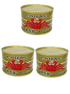 ストー たらばがに 棒肉詰 固形量160g×3缶