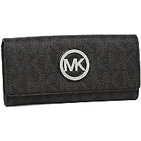 (マイケルコース) MICHAEL KORS 財布 アウトレット 35F5SFTE1B BLACK 長財布 ブラック [並行輸入品]