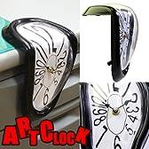 アンティーク風イメージが絶妙!!ぐにゃんとしたカタチがオシャレ!アートクロック・掛け時計・ART CLOCK-アートクロック