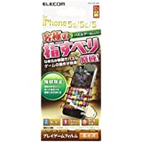 ELECOM iPhone SE/5/5S/5C フィルム ゲーム操作に最適 なめらかスムースタッチ 光沢 PS-A13FLGMG