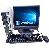 【Windows10】【100日間保証】厳選デスクトップPC & 17インチ液晶 & KB/マウスセット 中古パソコン デスクトップ Windows10