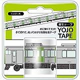 山手線 養生テープ E235系