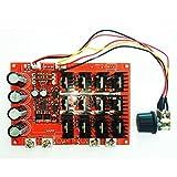 Leadrise® 10-50V60A DCモータ速度制御装置 PWM HHO RC スピードコントローラ 速度コントローラ 12V/24V/48V/3000W MAX