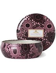 VOLUSPA ヴォルスパ ボルスパ ジャポニカシリーズ ベラ シュークレ 3-wickティンキャンドル 340g 約60時間 JAPONICA 3Wick Candle in Decorative Tin 12oz(60...