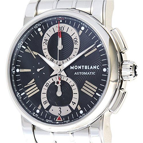 [モンブラン]Montblanc 腕時計 スター4810 102376 クロノグラフ ブラック ステンレススチール 自動巻き メンズ 102376 メンズ 【並行輸入品】