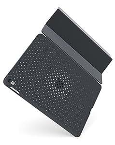AndMesh 9.7インチiPad Pro ケース 純正スマートカバー対応背面メッシュケース | チャコールグレイ AMMSD701-CGR