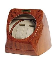 Jelphy ワインディングマシーン マブチモーター採用 ウォッチワインダー 2本巻 KA075 (ウッド)