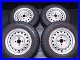 【中古タイヤ】【送料無料】4本セット ヨコハマ JOB RY52 165R13 6PR / トヨタ純正 プロボックス 13x5.0  100-4穴  プロボックスに! サマータイヤ S13170219034