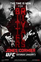 proframes UFC 181ジョンジョーンズvsダニエル・Cormierスポーツフレーム入りポスター12x 18 12  x 18  Inch