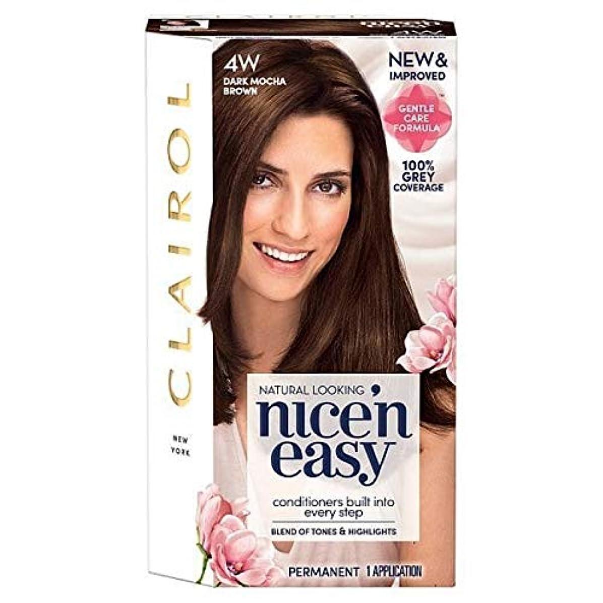 東ティモールアシュリータファーマン騒々しい[Nice'n Easy] 簡単に4ワットダークモカブラウンNice'N - Nice'n Easy 4W Dark Mocha Brown [並行輸入品]