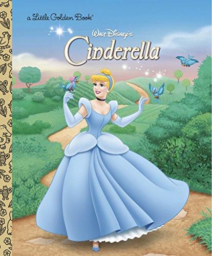 『Cinderella (Disney Princess) (Little Golden Book)』のトップ画像